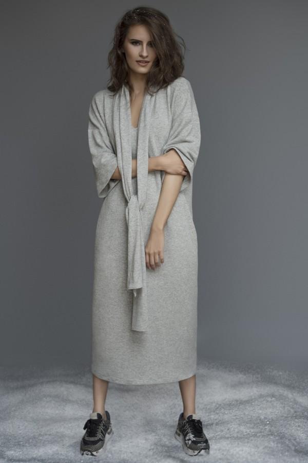 Jauki trikotažinė suknelė ST8660