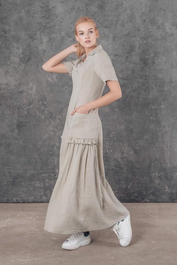 Lininė suknelė TOMIS