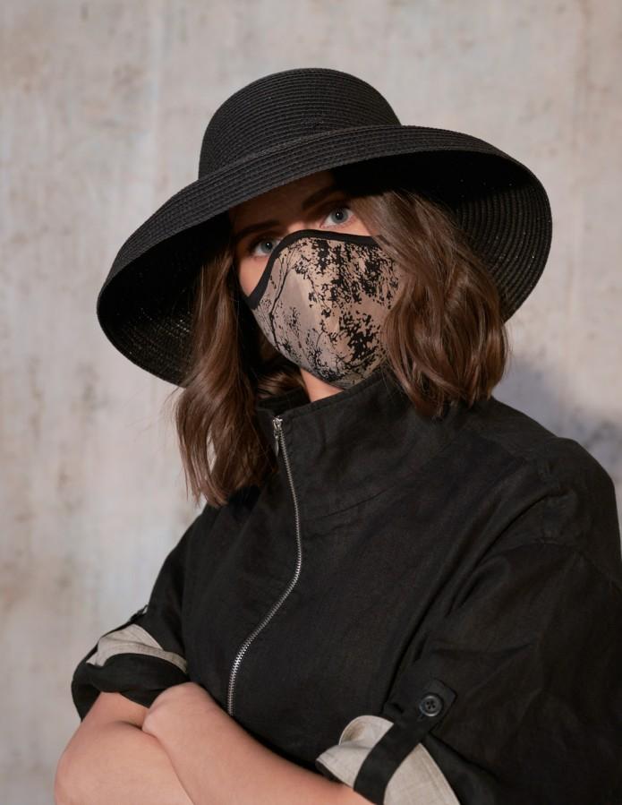 Apsauginė kaukė veidui su 100% cupro