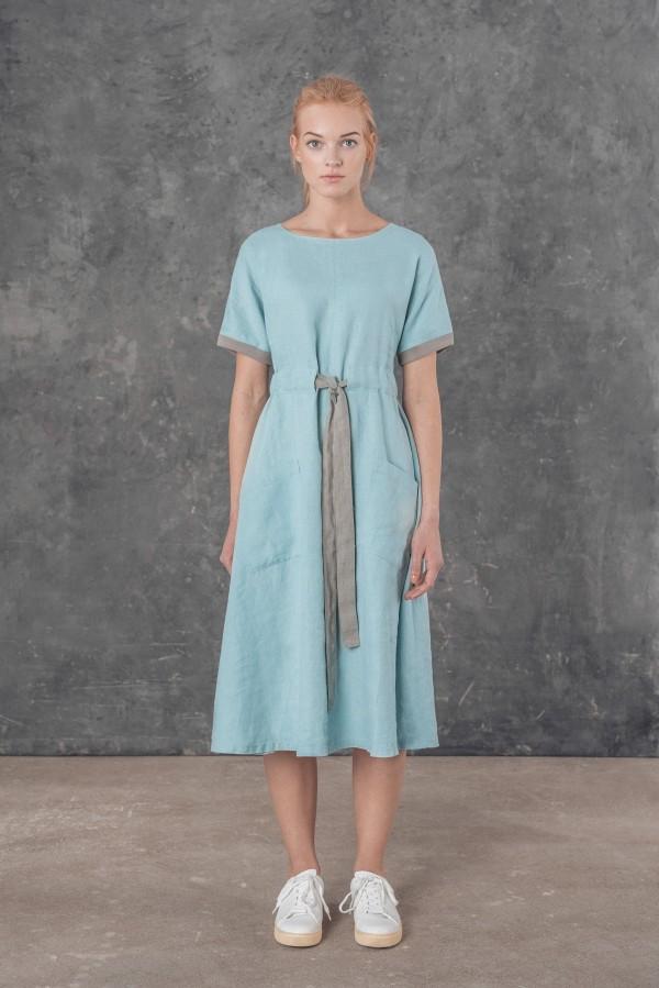 Lininė suknelė FIONA
