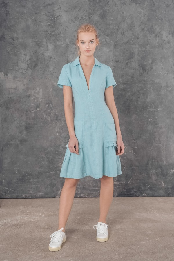 Lininė suknelė ROMI