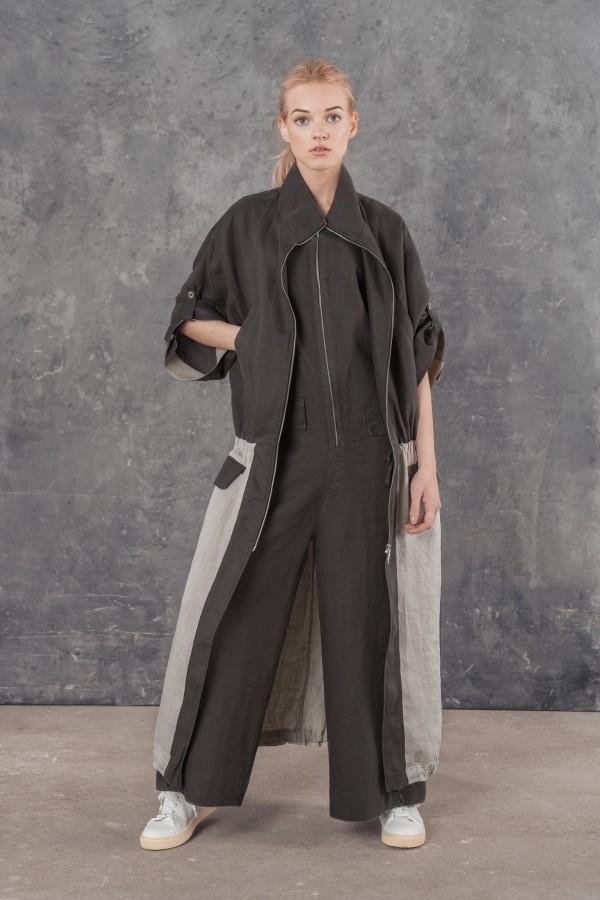 Ilgas ininis paltas MIMCA